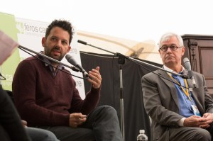 Antony Lowenstein and Julian Burnside on Australia's attitude and handling of free speech. Photo: Greg Saunders