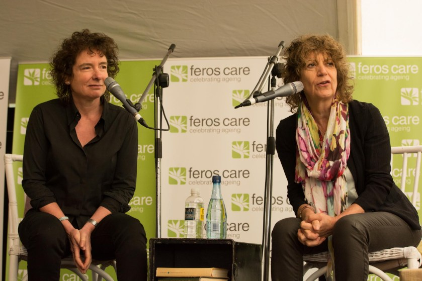 Authors and partners, Jeannette Winterson and Susie Orbach Photo: Greg Saunders