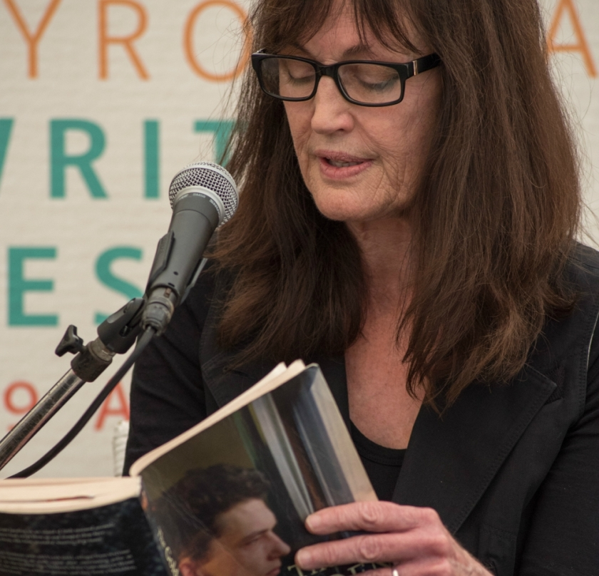 Joan London reads from her latest novel The Golden Age at Byron Bay Writers Festival 2015. Photo: Kalem Horn